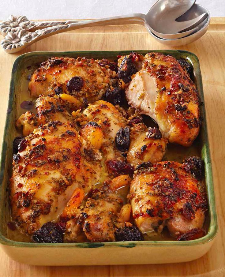 I have served this chicken on Rosh Hashanah for years, and it's a go-to for a quick and easyShabbat recipe. The chicken gets caramelized from the  ...