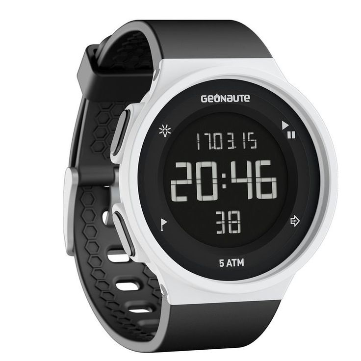 Montre digitale W500 M swip - Decathlon