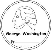 George Washington: A Book for Early Readers (see Enchanted Learning site for other Presidents' Day activities)