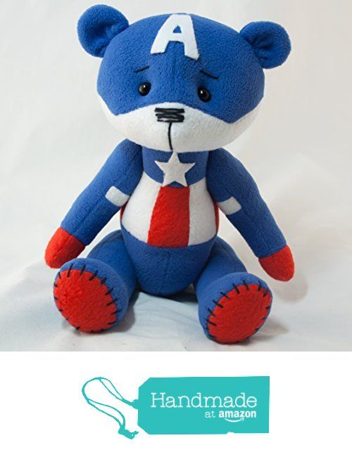 Captain America bear from BearMix https://www.amazon.com/dp/B01I4N1INW/ref=hnd_sw_r_pi_dp_1kcGxbHBN919F #handmadeatamazon