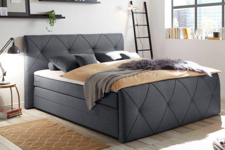 Lozko Age Szare 180x200 Furniture Bed Home Decor