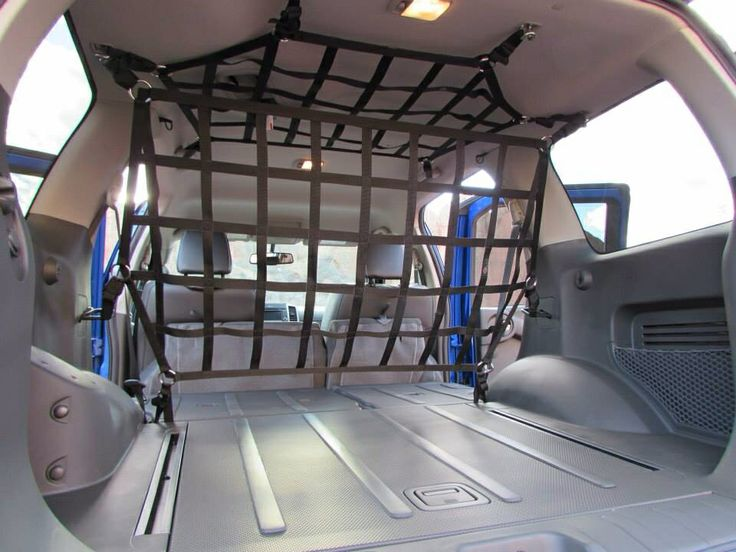 Barrier and ceiling net for the Xterra