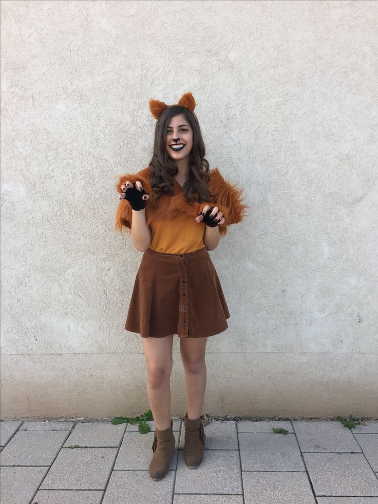 Homemade Leopard Costume