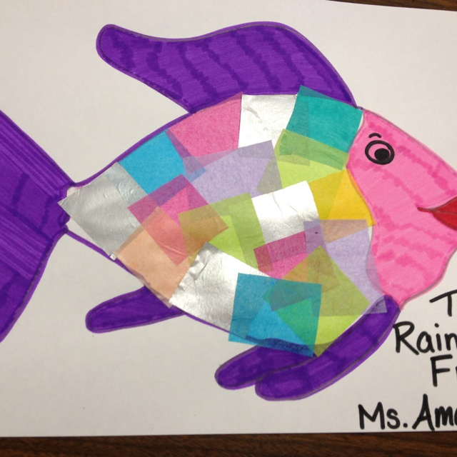 211 best images about beach ocean on pinterest crafts for Rainbow fish craft
