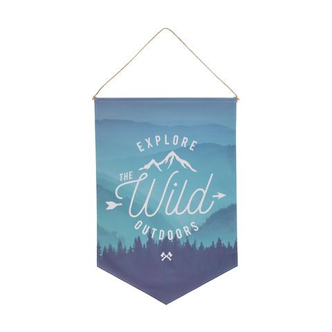 Flag - Explore The Wild Outdoors | Kmart