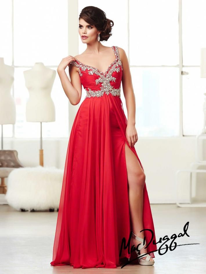 Mac Duggal Prom Dress Style 64628M at www.GownGarden.com #Prom Dresses #2014 Prom Dresses