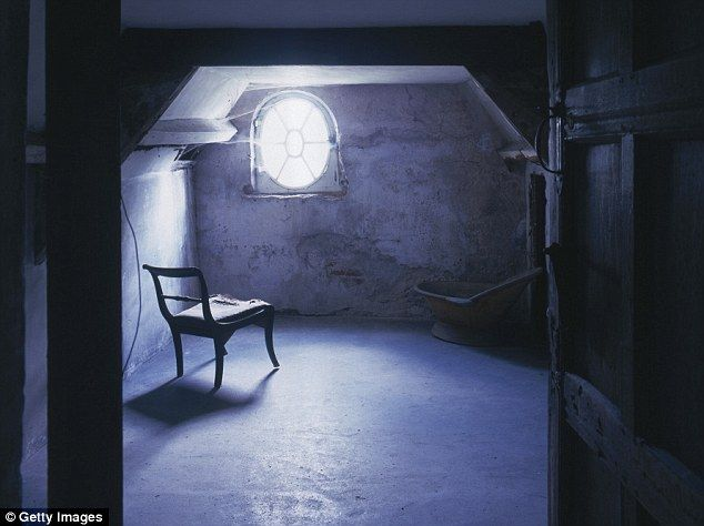 Foreboding: This attic in Norton Conyers, North Yorkshire, will be opened to pre-booked to...