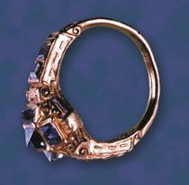 Ring of Isabella Jagiellon by Anonymous from Central Europe, 1540s, collection of Diana Scarisbrick
