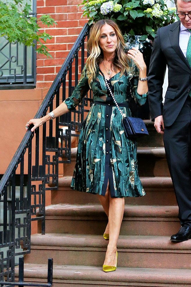 Фото 1 - Образ дня: Сара Джессика Паркер в платье Emanuel Ungaro