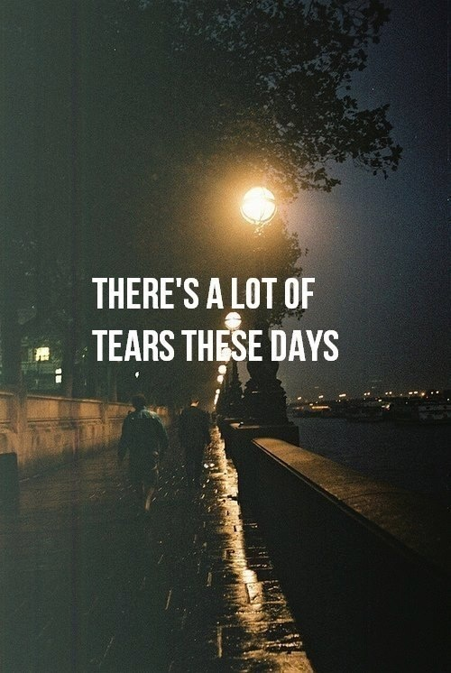 """Everlasting tears!... """"A lonely teardrop falls from the sky.. A dream within, A hopeful cry"""" ♡Always Kay Kay"""