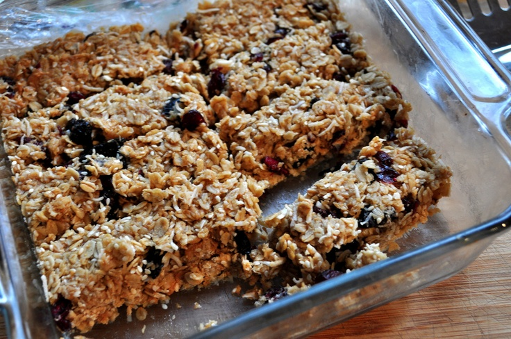 make your own granola bars.
