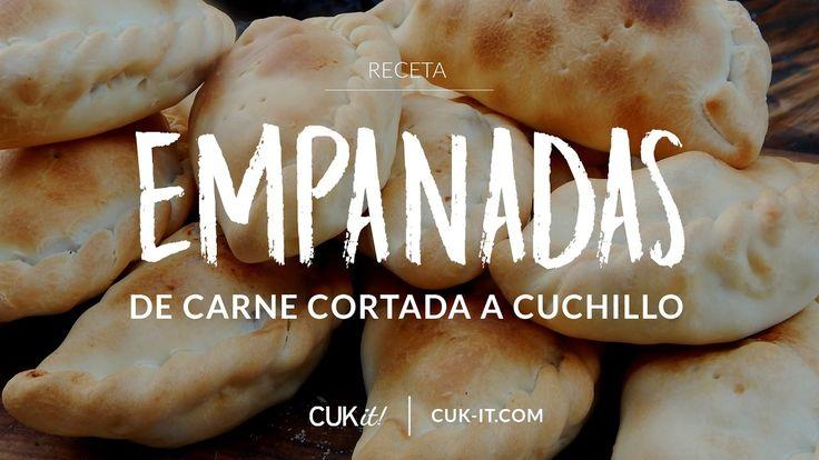 Receta de Empanadas de Carne Cortada a Cuchillo - CUKit!
