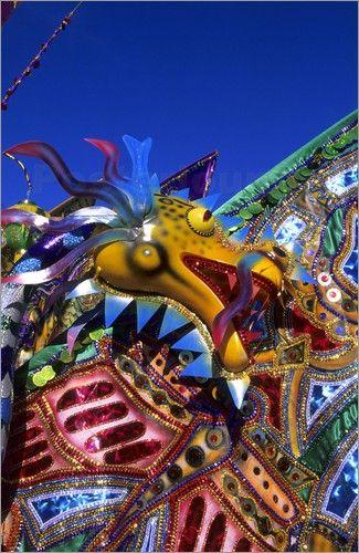 """Bild von Michael DeFreitas - """"Carnival costume Trinidad"""""""