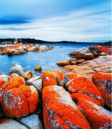 Binalong Bay, Bay of Fires, Tasmania: - PixoHub