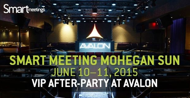 Email Invitation to Smart Meeting Mohegan Sun  After Party