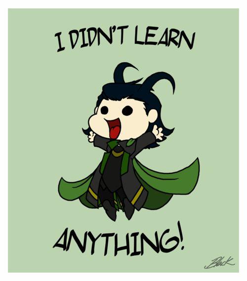 Loki's post-Avengers confession.