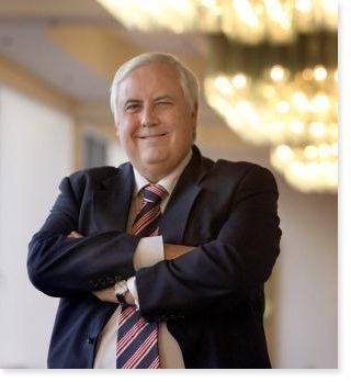 "Clive Palmer is planning to launch a website that will ""spill the beans"" on News Corporation Australia. Full story: http://influencing.com.au/p/43573"