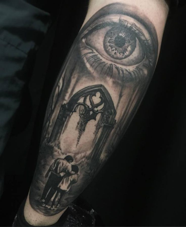 #eye #realism #family #forearm