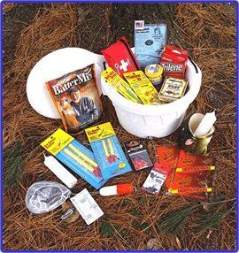 Ice Fishing Bucket Gift Basket - OMJ Outdoors