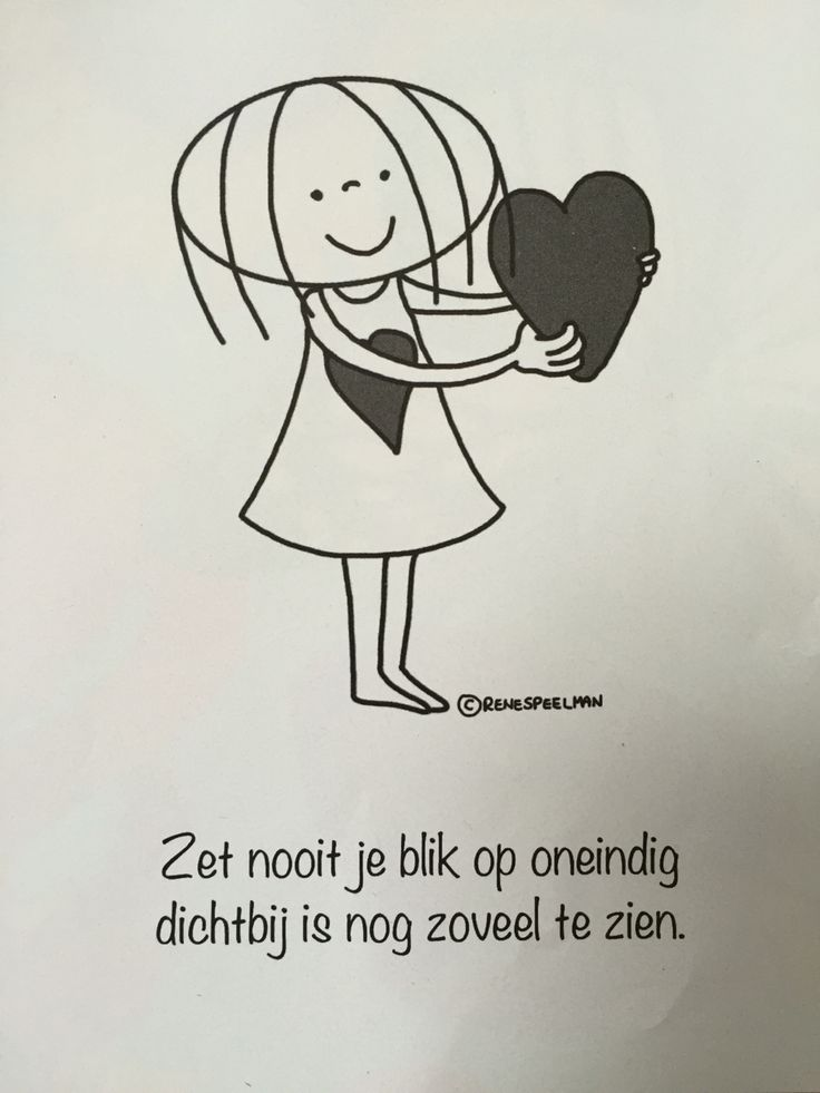 Zet nooit je blik op oneindig dichtbij is nog zoveel te zien #jabbertje
