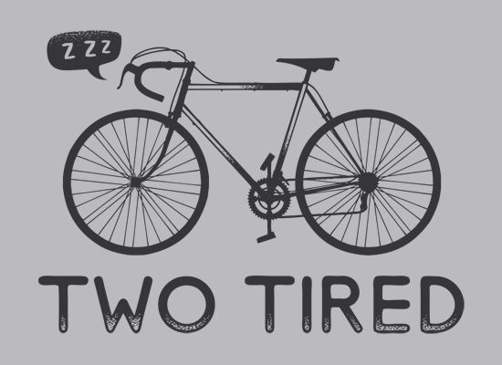 Funny t-shirt for your fave bike lover...nice play on words and such.