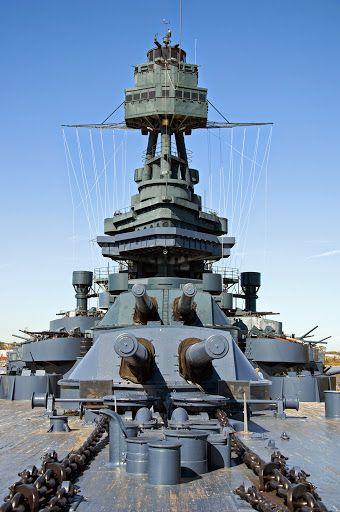 Battleship of Texas. USS Texas (BB-35). La Porte, Texas.
