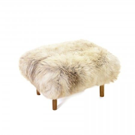 Bronwen Baa Stool in Rare Breed