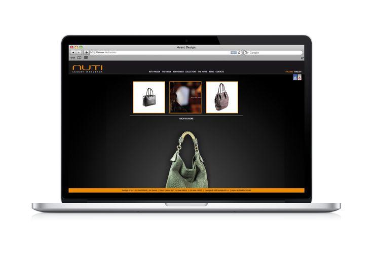 NUTI BAGS sceglie la creatività DDM per il suo nuovo website, coscente dell'importanza di questa chiave di un mercato moderno.