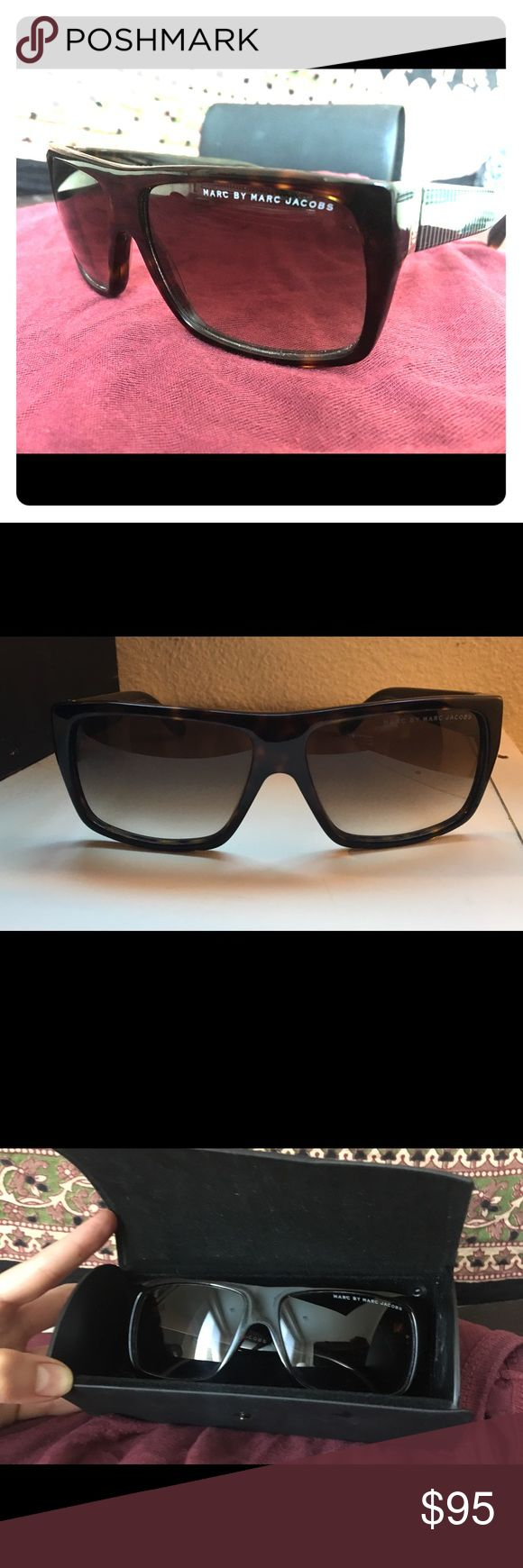 Selling this Marc Jacobs brown sunglasses with gradient lens. on Poshmark! My username is: miranda_0123. #shopmycloset #poshmark #fashion #shopping #style #forsale #Marc Jacobs #Other