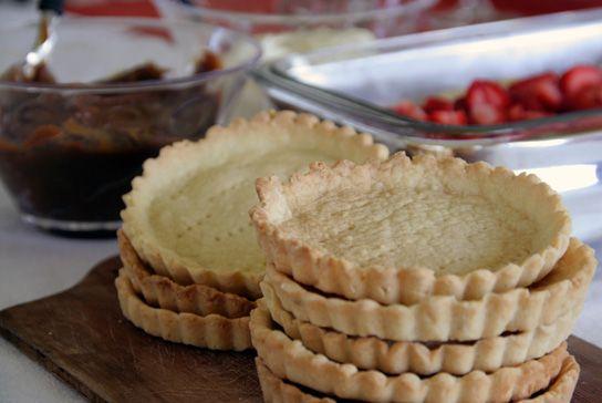 Doscucharadas» Dos cucharadas » Masa dulce para tarteletas