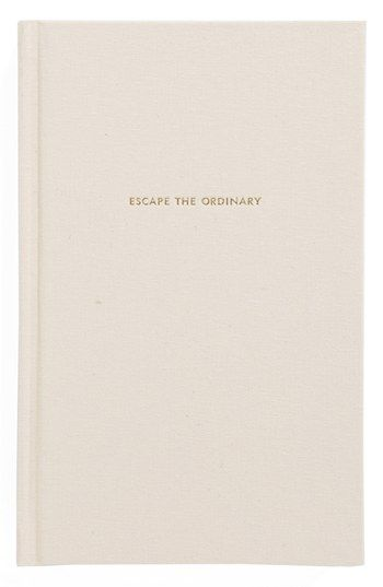 kate spade new york 'escape the ordinary' journal available at #Nordstrom