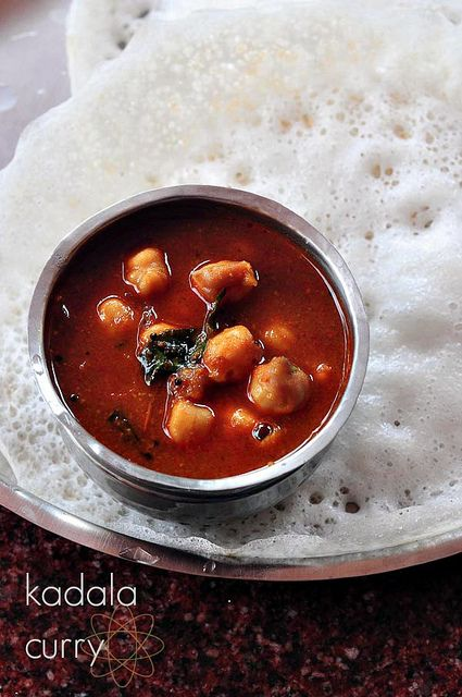 Kadala Curry - Kerala chickpea curry with coconut and spices from @Katy Phillips Garden (Nags)