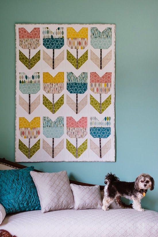 Free pattern Bijou Lovely: Amsterdam Quilt.