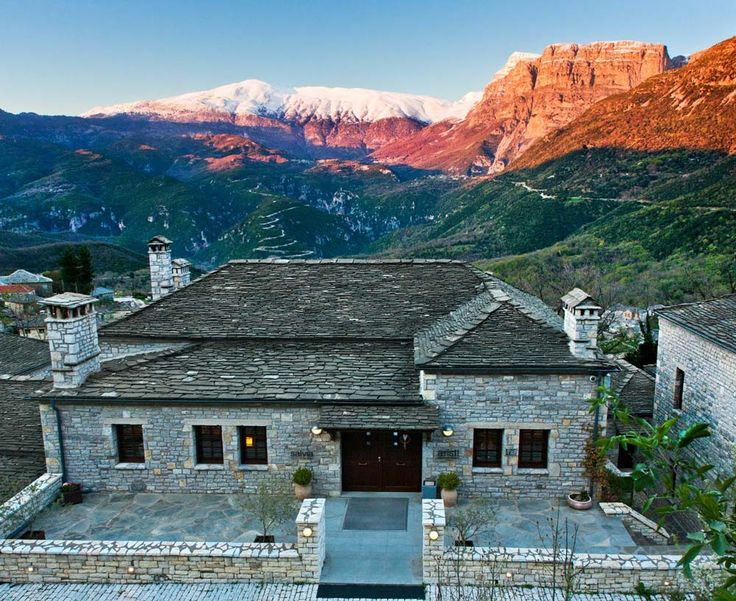 Aristi Mountain Resort+Villas - The Greek Foundation