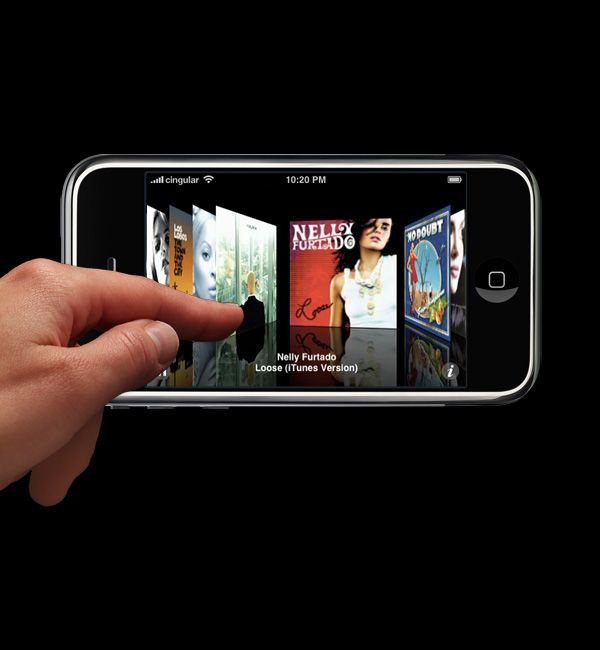 Apple - iPhone - High Technology - Multi-touch