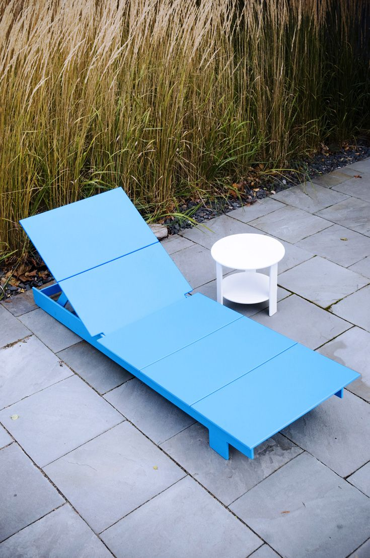 Modern chaise outdoor - Part Of Loll Designs Lollygagger Collection This Patio Chaise Lounge Chair Is Intended For Extended Relaxation Or Better Yet Afternoon Naps
