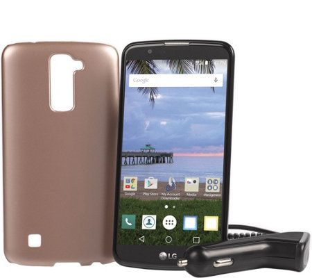 "LG Premier Tracfone 5.3"" Smartphone w/ 1350 Min, Text and Data"