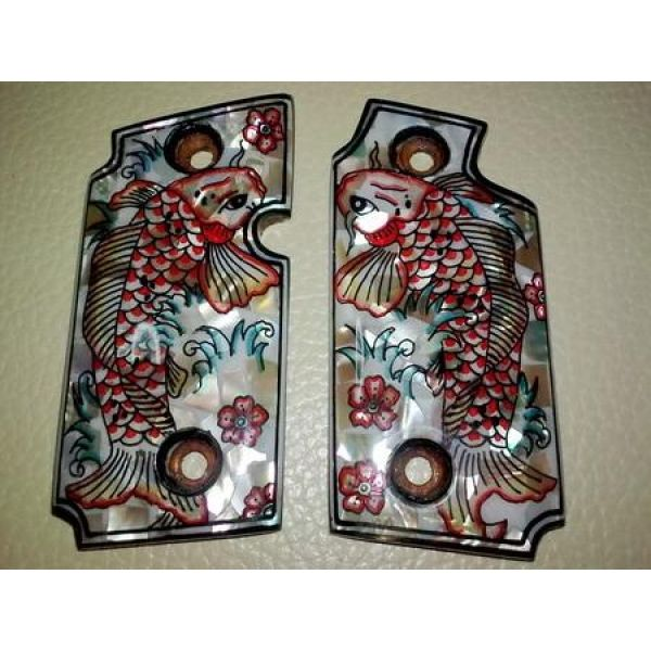 MOTHER OF PEARL INLAY GRIPS  FIT SIG SAUER P238