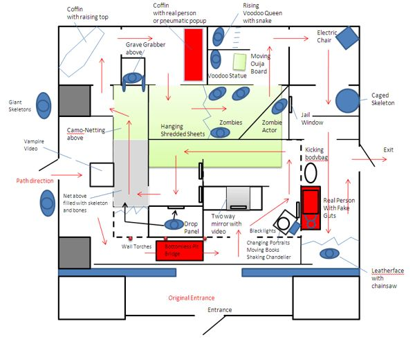 Haunted House Design Plans House Design