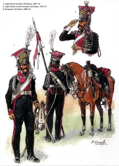 1st Regiment (Polish Lancers), by Patrice Courcelle.