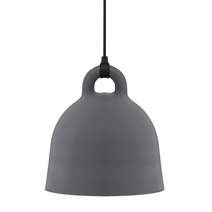 nm bell lamp grey