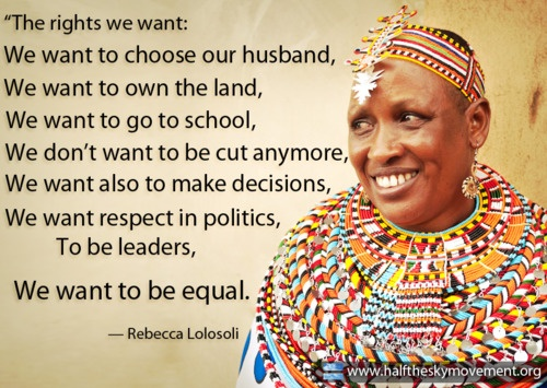 Womens Rights Quotes 22 Best Quotes From Half The Sky Turning Oppression Into