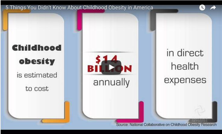 Learn more about Childhood Obesity and 5 facts you didn't know about it.