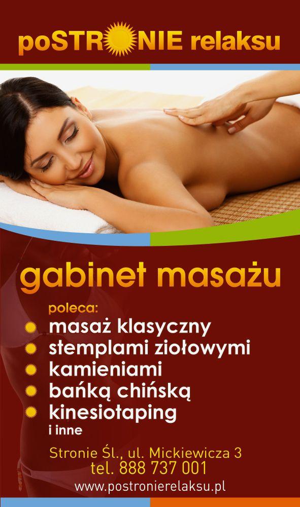 Zapraszamy na masaż ;)
