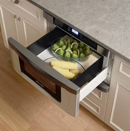 Sharp's microwave drawer.  There's no reason to pay for a premium brand on this appliance :-)
