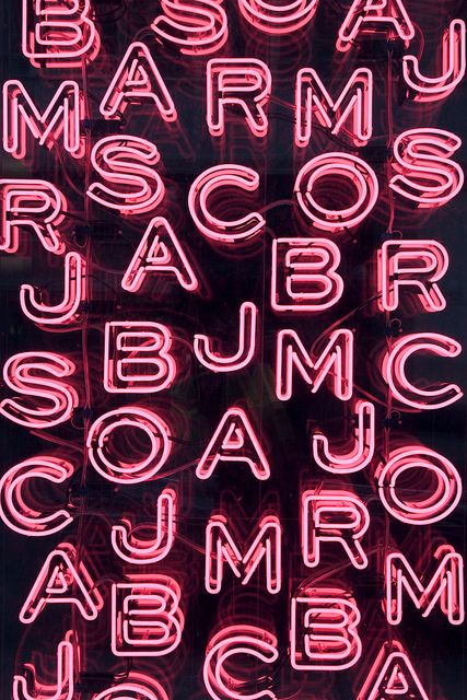 Marc Jacobs Neon at London's Selfridges