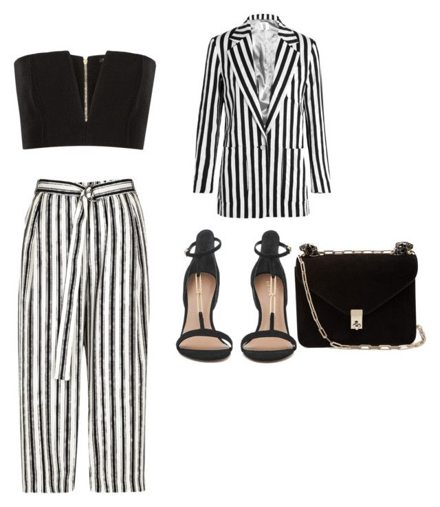 """""""Untitled #93"""" by denisapurple on Polyvore featuring Topshop Unique, River Island, Balmain and Valentino"""