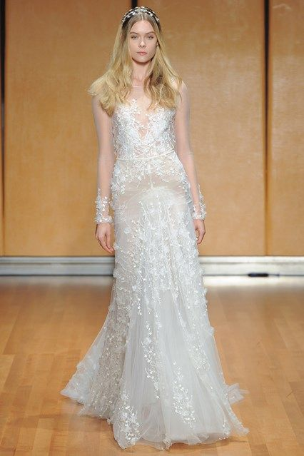 Inbal Dror Fall 2017 Collection New York Bridal Market October 2016 (BridesMagazine.co.uk)