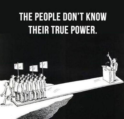 …die Macht des Volkes! – Melissa Wilson Maag