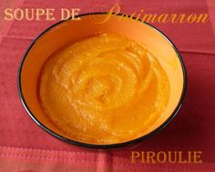Velouté de potimarron light (Dukan phase 2, Weight Watcher, etc...)